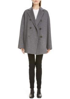 Acne Studios Odine Double Breasted Wool & Alpaca Coat