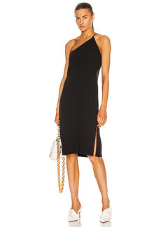 Acne Studios One Shoulder Midi Dress
