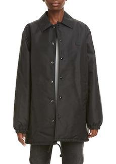 Acne Studios Oscoda Face Patch Coach's Jacket