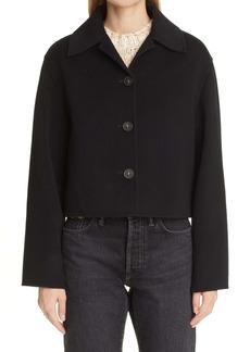 Acne Studios Otavia Double Face Wool Crop Jacket