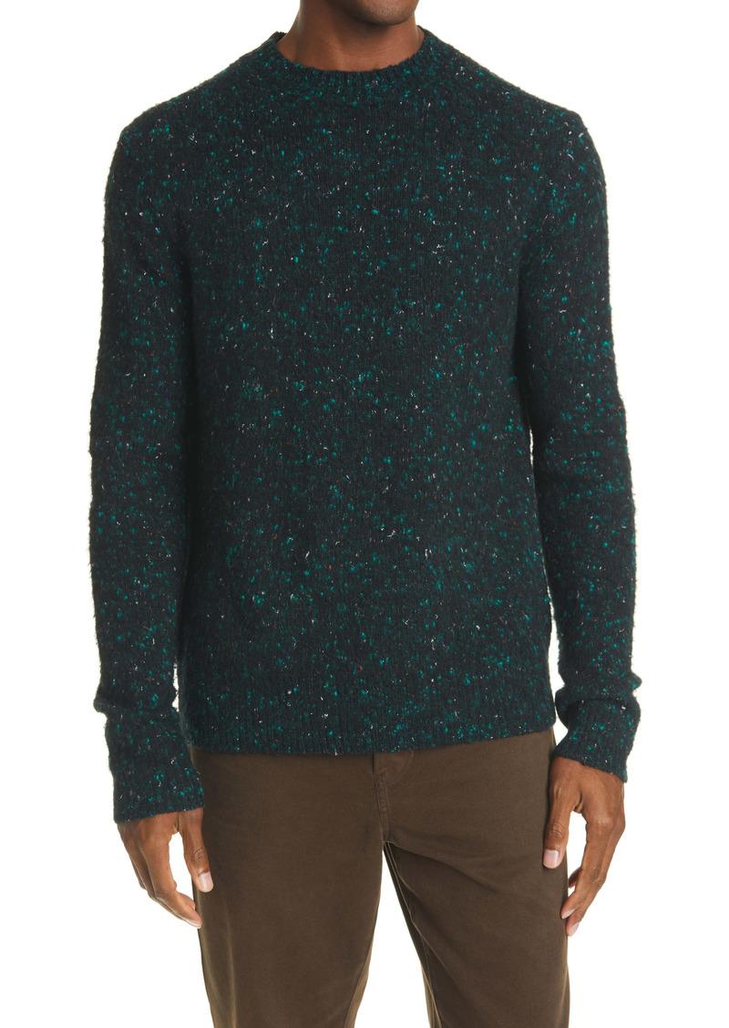 Acne Studios Peele Nep Wool Blend Crewneck Sweater