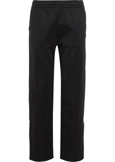 Acne Studios Woman Emmett Face Appliquéd Jersey Track Pants Black