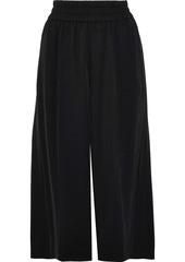 Acne Studios Woman Imri Gathered Twill Culottes Black