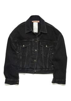 Acne Studios Women's Morris Crop Denim Jacket