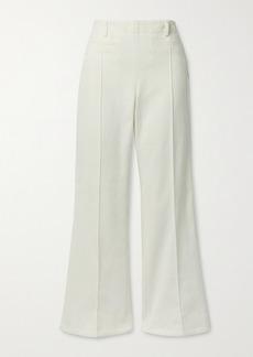 Acne Studios Cotton-canvas Bootcut Pants
