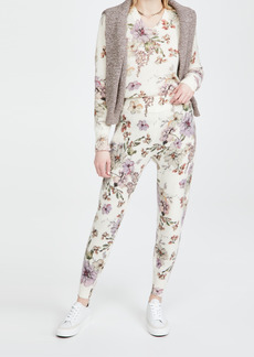 Adam Lippes Sweatpants in Printed Cashmere