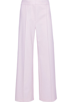 Adam Lippes Woman Wool-blend Wide-leg Pants Baby Pink