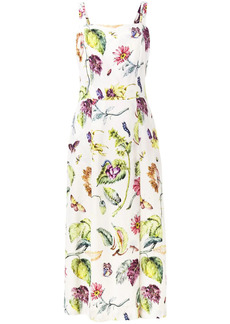 Adam Lippes botanical print dress
