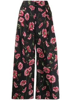 Adam Lippes floral-print culottes