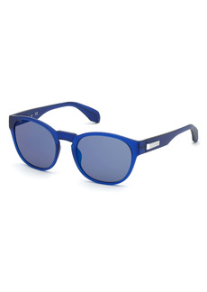 adidas 54mm Round Sunglasses