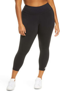 adidas Believe This Solid 7/8 Tights (Plus Size)