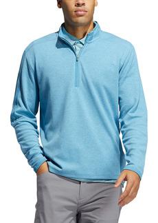 adidas Golf 3-Stripes Quarter Zip Performance Pullover