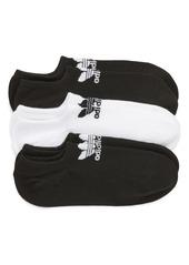 adidas Originals 3-Pack No-Show Socks