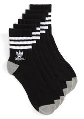 adidas Originals 3-Pack Quarter Crew Socks