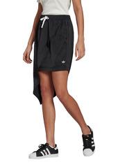 adidas Originals 3-Stripes Asymmetric Satin Skirt