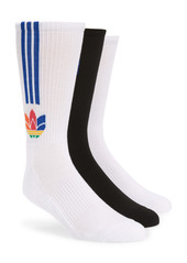adidas Originals 3D Trefoil Assorted 3-Pack Socks