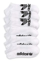 adidas Originals 6-Pack Classic No-Show Socks