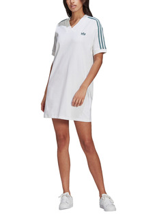 adidas Originals Adicolor 3D Trefoil T-Shirt Dress