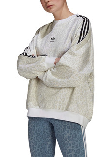 adidas Originals Animal Print Oversize Sweatshirt