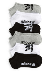 adidas Originals Assorted 6-Pack No-Show Socks