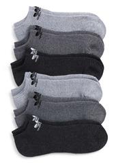 adidas Originals Assorted 6-Pack Trefoil No-Show Socks