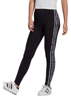 adidas Originals Floral 3-Stripes Tights