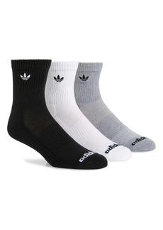 adidas Originals Men's 3-Pack Trefoil Crew Socks