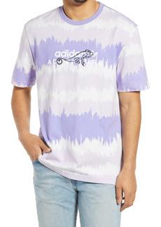 adidas Originals Men's Adventure Stripe Embroidered T-Shirt