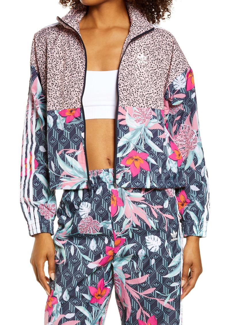 adidas Originals x HER Studio London Mixed Prints Track Jacket