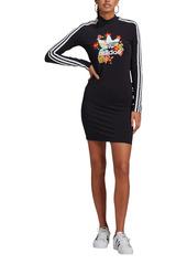 adidas Originals x HER Studio London Tropical Floral Long Sleeve Graphic Minidress