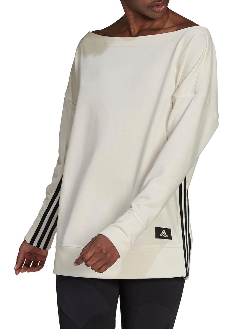 adidas Recco Wide Neck Sweatshirt