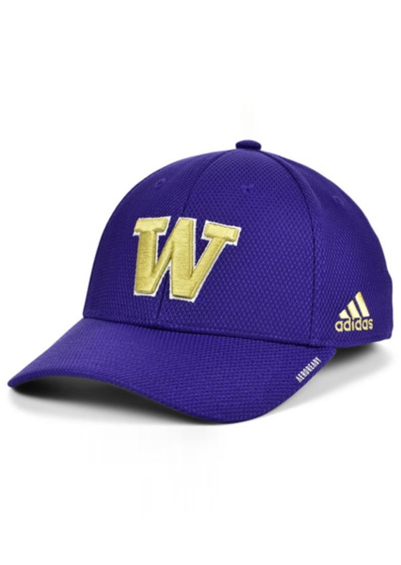 adidas Washington Huskies Sideline Coaches' Flex Cap