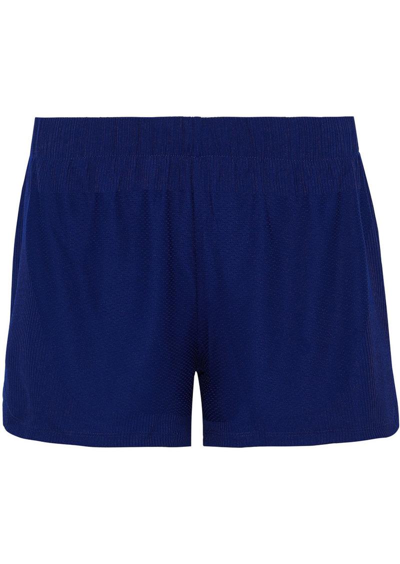 Adidas Woman Knitted Shorts Royal Blue