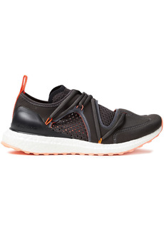 Adidas By Stella Mccartney Woman Ultraboost T Neoprene And Primeknit Sneakers Black