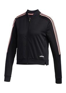 Adidas Climalite 3-Stripes Zip Track Jacket