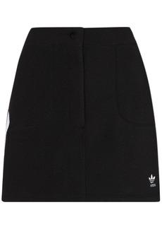 Adidas embroidered logo mini skirt