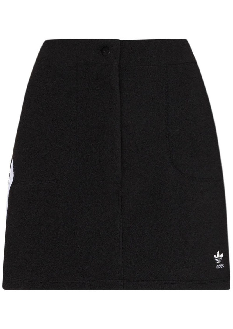 Adidas embroidered logo mini skirt