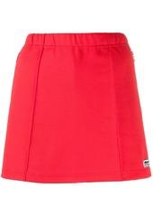Adidas x lotta volkova logo plaque mini skirt