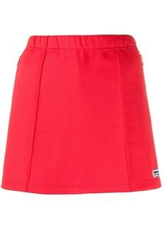 Adidas logo plaque mini skirt