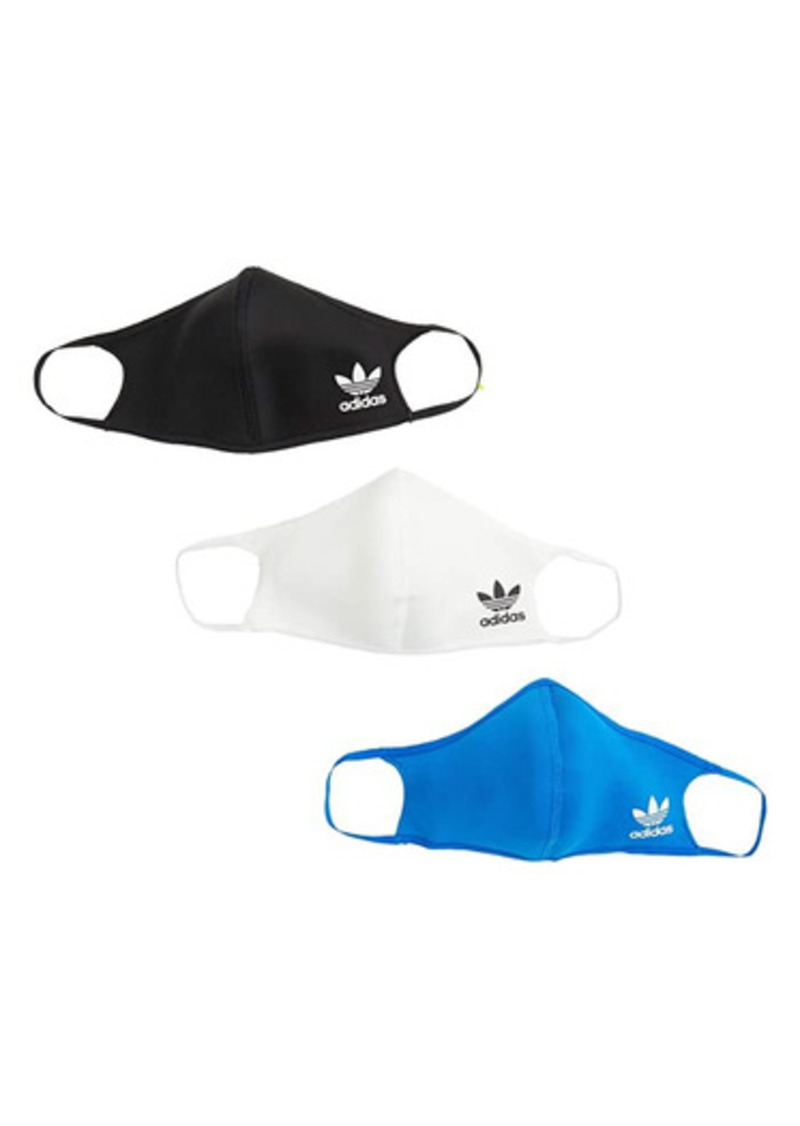 Adidas Trefoil Face Cover 3-Pack