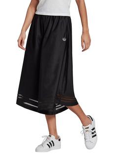 Women's Adidas Originals 3-Stripes Wide Leg Culottes