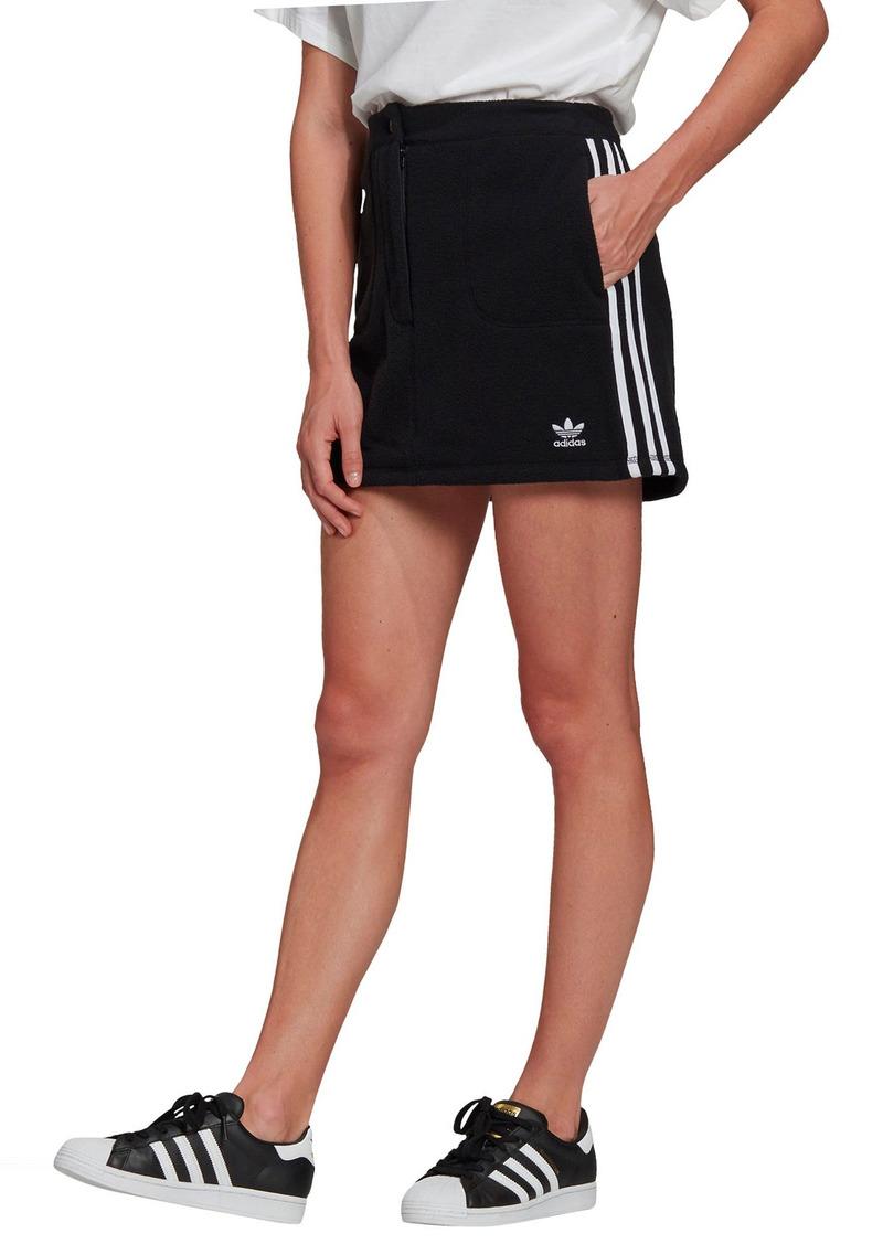 Women's Adidas Originals Fleece Miniskirt