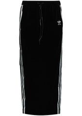 Adidas x Angel Chen 3-stripe midi skirt