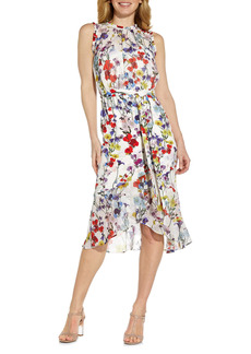 Adrianna Papell Floral Sleeveless Dress