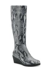 Aerosoles Brenna Knee High Wedge Boot (Women)