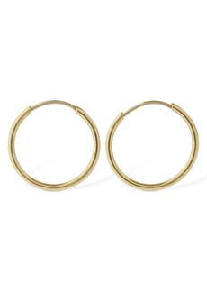 AG Adriano Goldschmied 18kt Gold Small Hoop Earrings