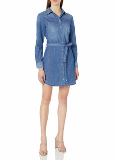 AG Adriano Goldschmied Women's Hartley Chambray Dress