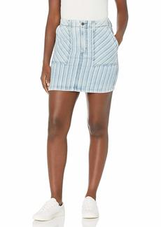 AG Adriano Goldschmied Women's Lana Workwear Mini Skirt OCCURENCE