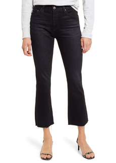 AG Adriano Goldschmied AG Jodi Mid Rise Raw Hem Crop Flare Jeans (2 Years Marquee)