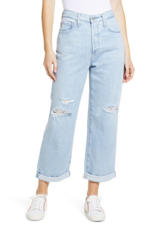 AG Adriano Goldschmied AG Knoxx Ripped High Waist Boyfriend Jeans (23 Years Cultivate)